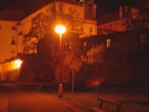 Zámek v noci